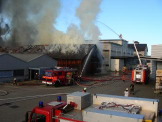 Grossbrand in Arbon